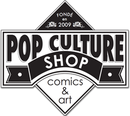 LIBRAIRIE : POP CULTURE SHOP
